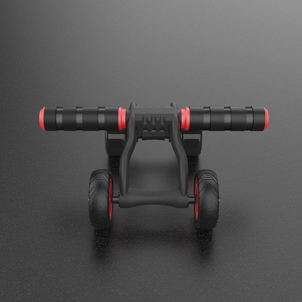 Esta rueda abdominal de Yunmai que vende Xiaomi destaca por su diseño de cuatro ruedas y resistencia