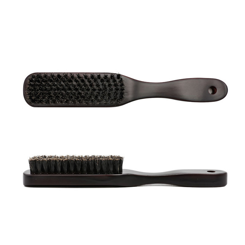 Bristle Mustache Brush Wood Handle Men's Beard Brush Comb Facial Beard Cleaning Styling Brush;Beard Brush Comb Facial Cleaning