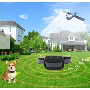 Best Dog Fence Wireless & Training Collar Outdoor, Electric Wireless Fence for Dogs with Remote, Adjustable Range Control, Wate