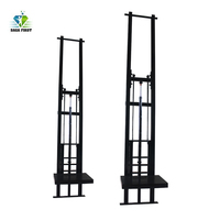 3m 5m 창고 유압 리프트 플랫폼 수직 제품 리프트 엘리베이터