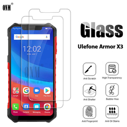 На Алиэкспресс купить стекло для смартфона 2pcs tempered glass ulefone armor x3 screen protector for ulefone armor x3 5.5 protective glass film