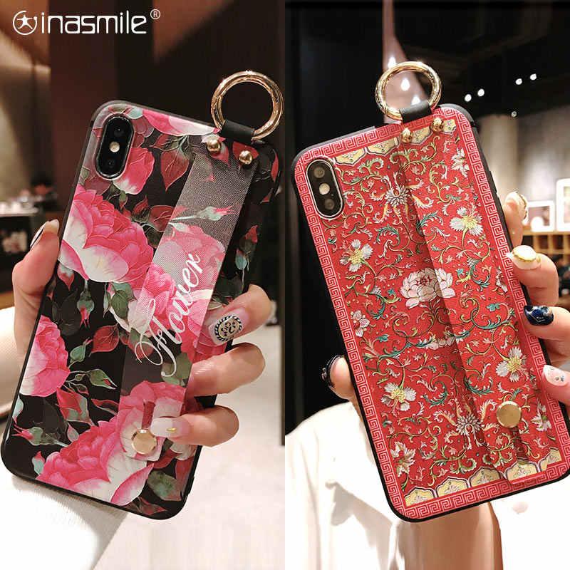 Molto bella Cassa Della Cinghia per Nova 4 3i 2s 3e 4e Honor 7A Cassa Del Telefono copertura Per Huawei P30 p20 Pro lite P10 più il Compagno 10 20 della copertura