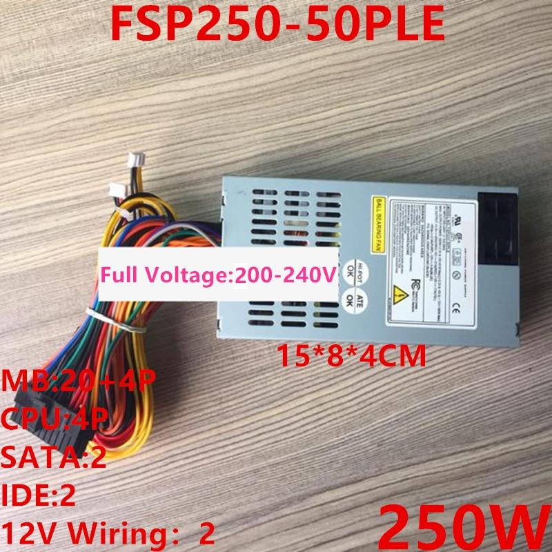 Новый блок питания для FSP AIO FLEX HTPC NAS ITX маленький 1U 250 Вт источник питания FSP250-50PLE ATX-400