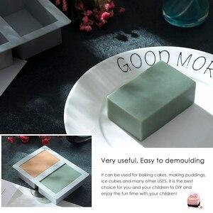 Портативная форма для мыла ручной работы, DIY силиконовая форма для мыла ручной работы, 3D форма, Овальная Круглая квадратная форма, Веселые по...