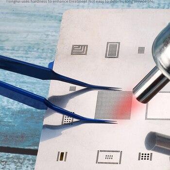 Mechaniker Verdickung Von Handy Wartung Nippel Pinzette Längliche Clamp Zweck Für Präzision Elektronische Komponenten