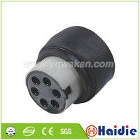 O envio gratuito de 5 conjuntos 6pin fio automático plástico plug elétrica cablagem cabo conector