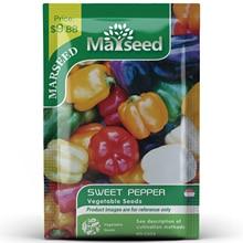 American Heirloom MARSEED Sweet Pepper Vegetables Seedsplants Seedling Garden Outdoor