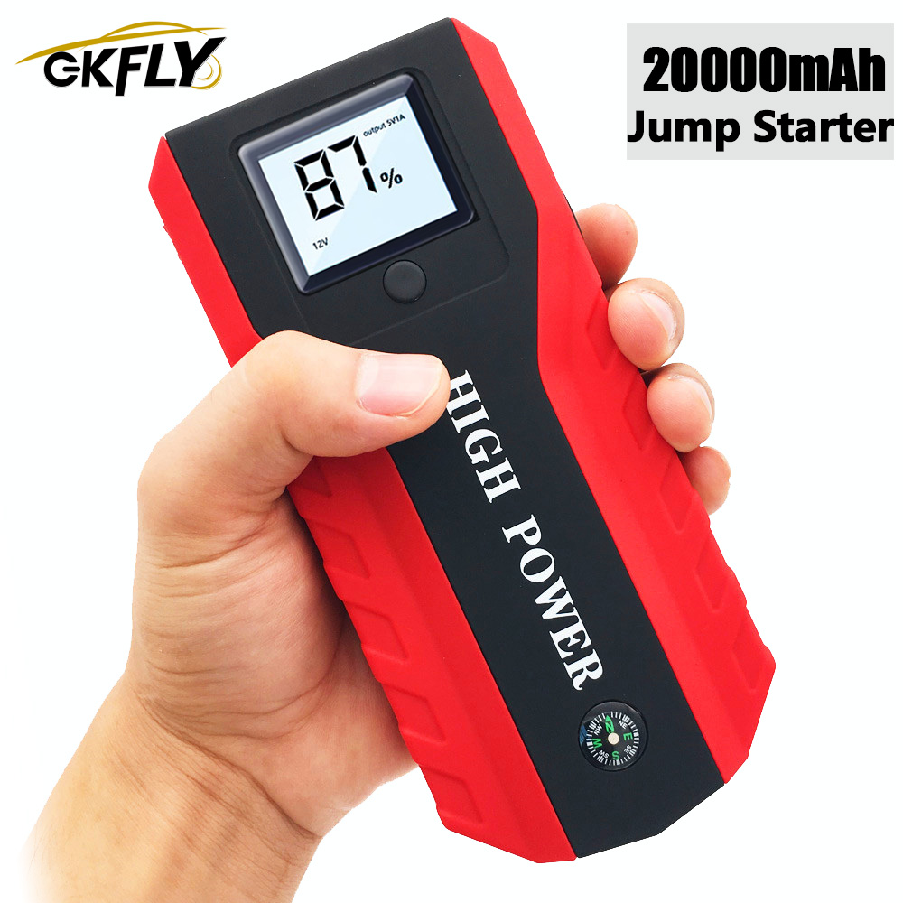 High Power Car Jump Starter Multifunction <font><b>Charger</b></font> <font><b>Battery</b></font> Emergency Portable Power Bank <font><b>Pack</b></font> Booster Buster <font><b>12V</b></font> 1000A image