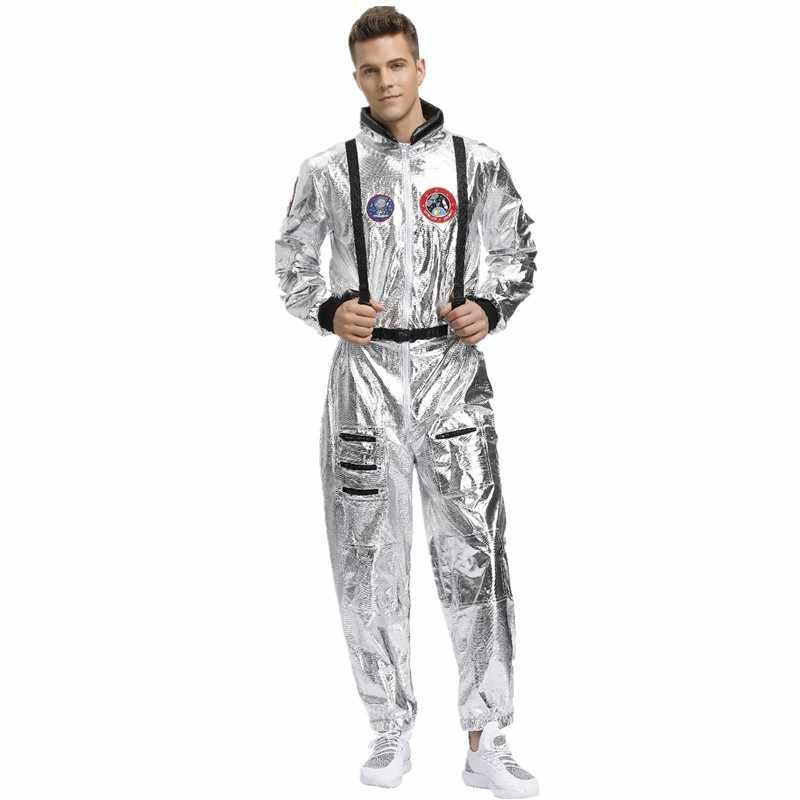 2019 yeni varış yetişkin astronot uzay tulum cadılar bayramı Cosplay parti pilotlar çift kostüm