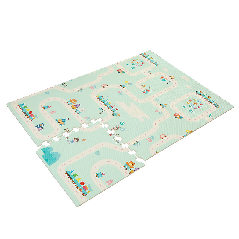 Infant Child Climbing Mat Stitching Cartoon Foam Mat Xpe Baby Crawling Mat Thickening Kids Rug Activity Mat Baby Playmat