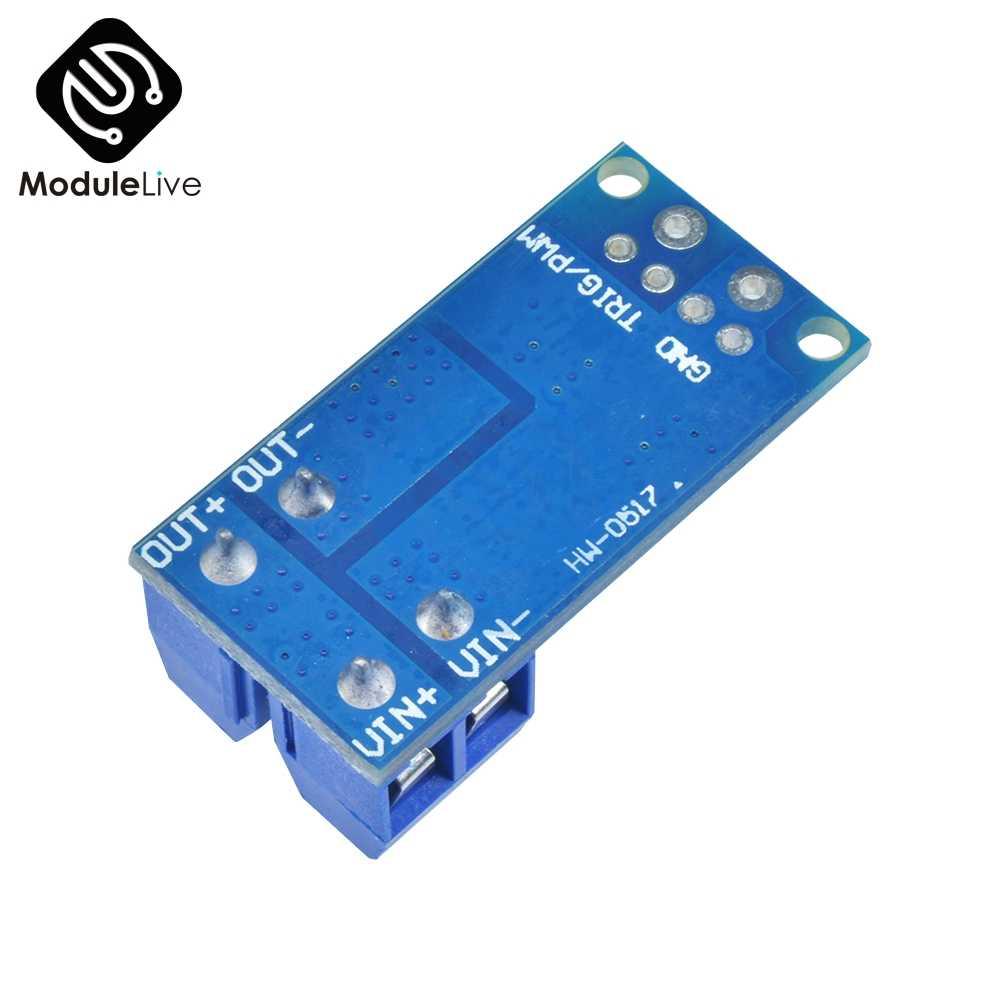 10 piezas 15A 400W MOS FET, interruptor de coche para PWM regulador de corriente, Control de placa del Panel de módulo Diy Kits 15 A