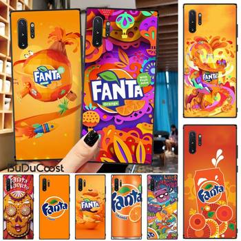 Slok Fanta Drink Orange DIY phone Case cover Shell For Samsung Galaxy Note 10 Pro 9 8 S10 S9 S8 Plus image