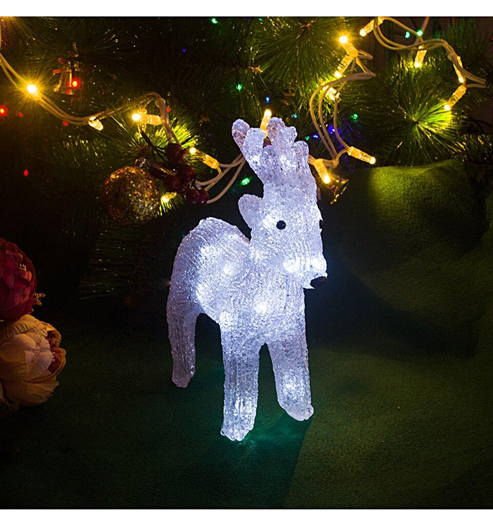 Toprex 3d natal rena iluminação bateria operado