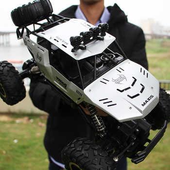 1/12 RC voiture 4WD escalade voiture 4x4 Double moteurs lecteur Bigfoot voiture télécommande modèle tout-terrain véhicule jouets pour garçons enfants cadeau