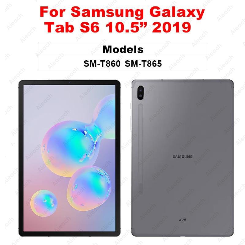 Защитная пленка для экрана samsung Galaxy Tab A 10,1 A 8,0 10,5 9D с закругленными краями из закаленного стекла для Galaxy Tab S5e S4 S6 - Цвет: Tab S6 10.5 2019