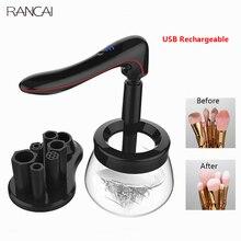RANCAI professionnel maquillage brosse nettoyant rapide lavage et séchage maquillage brosses nettoyage maquillage brosse outils et Machine