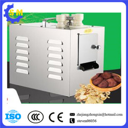 Automatic Chinese herbal medicine slicer American ginseng slicing machine cutting machine cutter