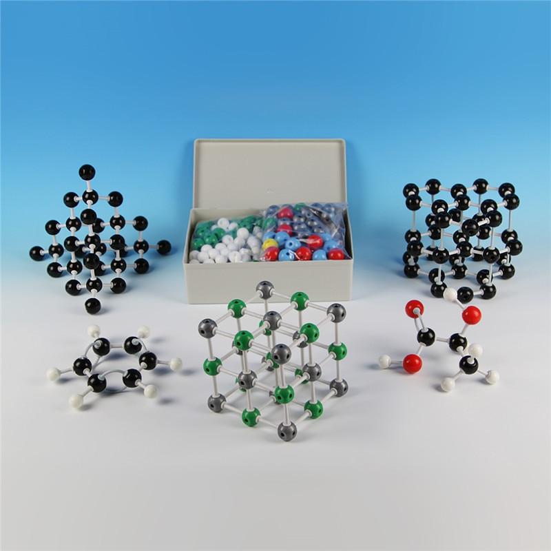 426 шт./компл. химические учебные лабораторные принадлежности могут сочетаться с органическими и неорганическими молекулярными структурным...