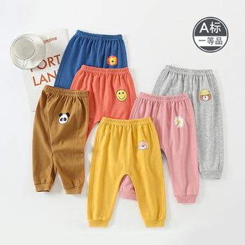 2020 odzież dla niemowląt spodnie dla niemowląt czysta bawełna wiosna jesień maluch nosić chłopcy dziewczęta spodnie sportowe spodnie odzież dla niemowląt tanie i dobre opinie Stałe Proste Unisex COTTON Na co dzień Pasuje prawda na wymiar weź swój normalny rozmiar Suknem Zipper fly