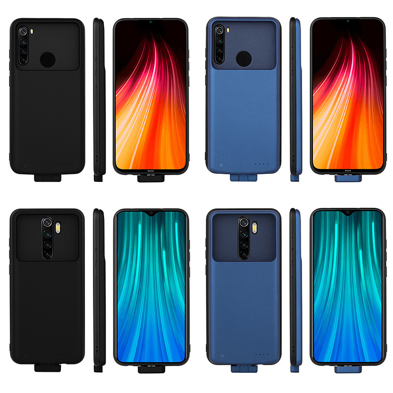 For Redmi Note8 Pro 7000mAh Slim Battery Charger Case For Xiaomi Redmi Note 8 Pro Backup Power Pack Charger Cover Case