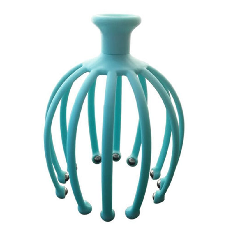 Handheld Scalp Massager with 12 Flexible Tentacles with Scrollable Steel Balls Provides Better Massage Experience 11