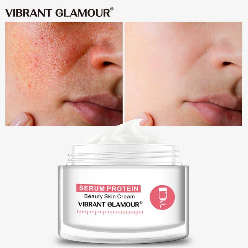 VIBRANT GLAMOUR เซรั่มโปรตีนครีมซ่อมริ้วรอยลดสีแดงเลือด Anti-allergy Aloe Hydration Moisturizing ผิว care