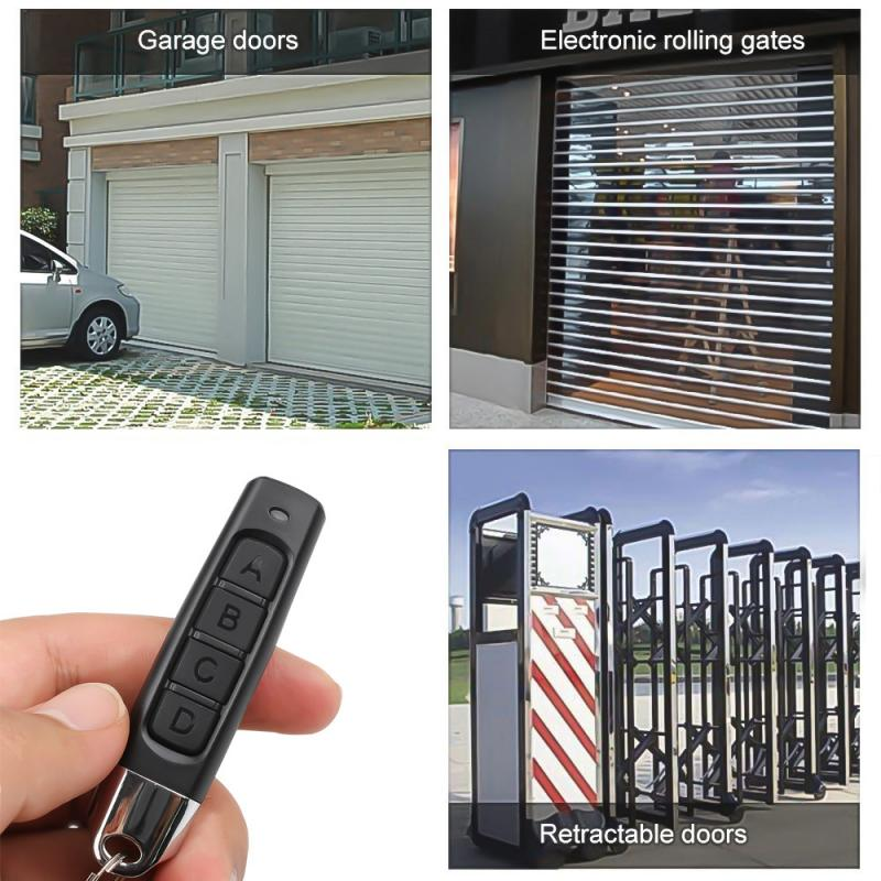 Wireless 433MHZ Key Remote Control Garage Gate Door Opener Road Gate Remote Control Duplicator Clone Cloning Code Car Key