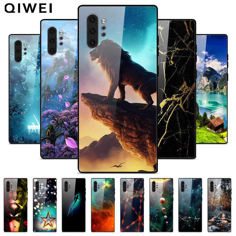 Case For Samsung Note 10 Plus Cover Silicone Soft Tpu Back Cover For Samsung Galaxy Note 10 Lite Phone Case Note10 Plus Cartoon Phone Case Covers Aliexpress