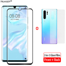 2-in-1 Front + Back Full Cover Glass Film P30Pro Huawei P30 Lite Screen Protector Pro Tempered