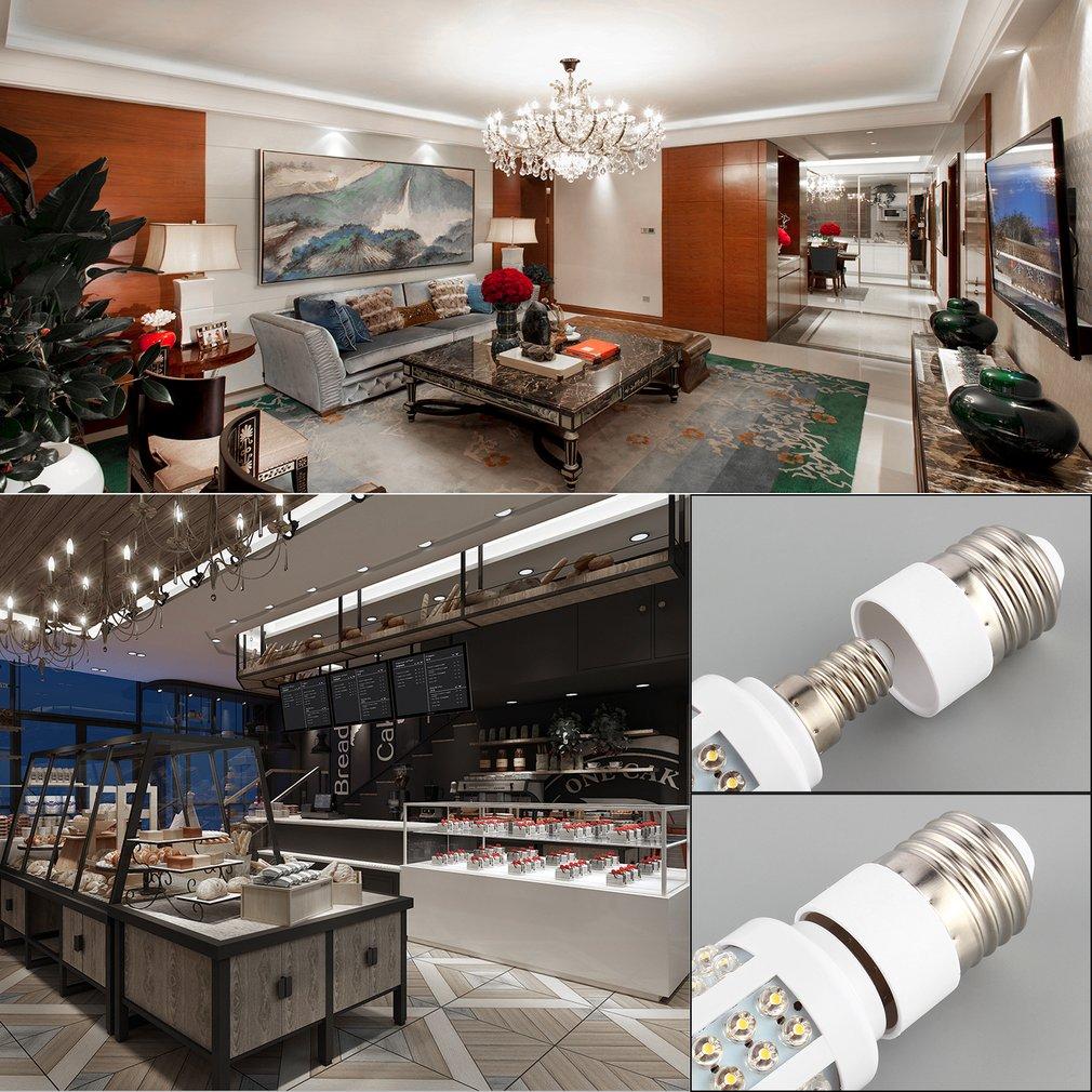 E27 To E14 Socket Light Bulb Lamp Holder Adapter Plug Extender Lampholder SER88