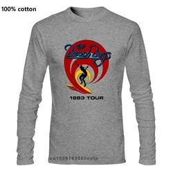 The Beach Boys 1983 Tour Rock Punk Hipster Unisex T Shirt Breathable Tee Shirt
