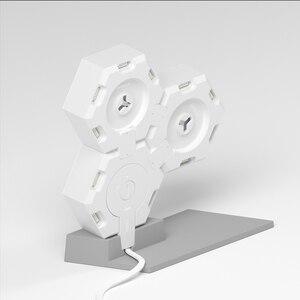 Image 5 - LifeSmart LED lumière quantique géométrie intelligente assemblage bricolage lampe WiFi travail avec Google Assistant Alexa Cololight APP contrôle intelligent