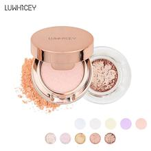Makeup Face Glitter Powder Shimmer Potatoes Cosmetic Highlighter Powder Palette Face Cosmetics Pressed Powder Highlight Palette цена