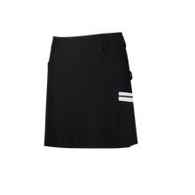 Pleated anti-glare A-line short skirt after golf sports fashion
