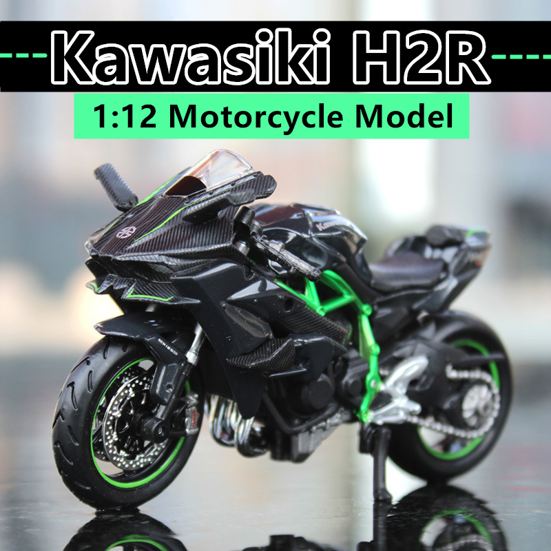 Maisto  1:12 Kawasaki H2R original authorized simulation alloy motorcycle model toy car Collecting