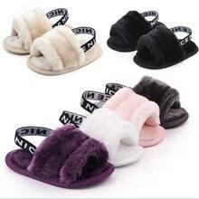 Focusnorm/6 цветов; 0-18 M; обувь для новорожденных детей из искусственного меха; Демисезонная обувь для мальчиков и девочек; домашняя обувь на мягкой подошве; 0-18M