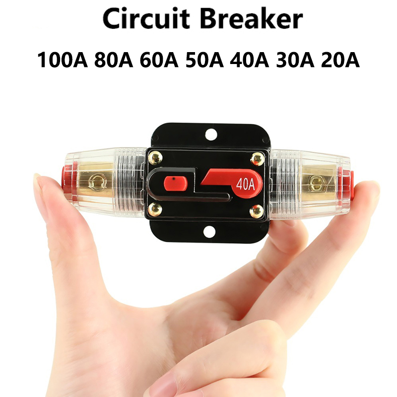 50A-300A Car Circuit Breaker Automatic Switch Wire Insurance Bile Fuse Current