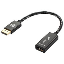 Displayport Naar Hdmi, 4K Dp Display Port Naar Hdmi Adapter (Man-vrouw) compatibel Voor Lenovo Dell Hp En Anderen, 2 Pack(China)