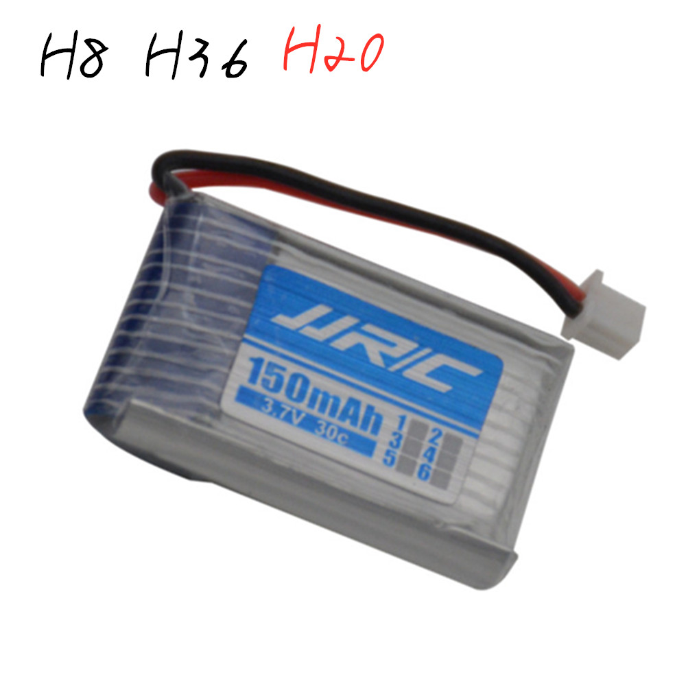 3.7v 150mah 30C For Jjrc H20 U839 S8 M67 RC Quadcopter Spare Parts 3.7v LIPO Battery For H20 Battery For Toy Helicopter