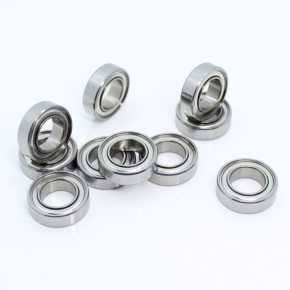 <font><b>MR148zz</b></font> Bearing <font><b>8*14*4</b></font> mm ( 10 PCS ) ABEC-5 Miniature MR148 Z ZZ High Precision MR148Z Ball Bearings image