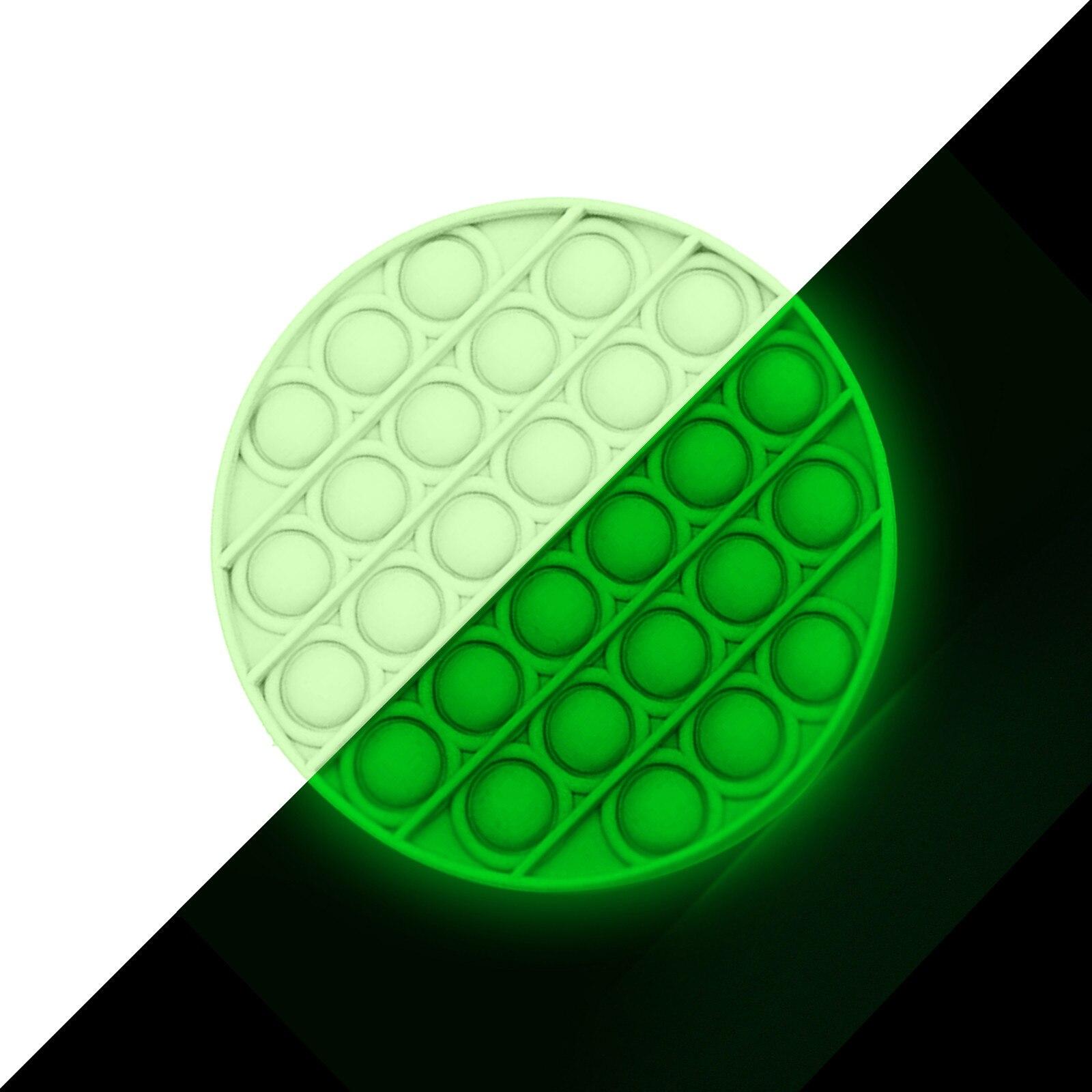 Toy Bubble-Fidget Fidget-Sensory Toy-Stress Relief Adult Glow-In-The-Dark Push Kids img2