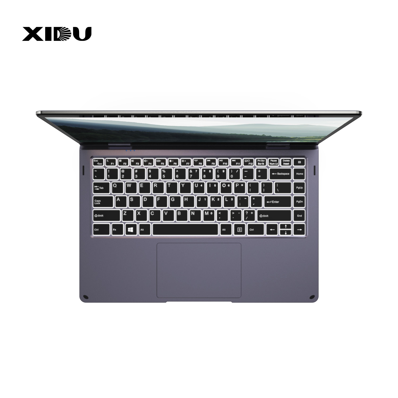 XIDU ноутбук PhilBook Max 14,1 ''планшет 2 в 1 ноутбук с окном 10 планшет с подсветкой Клавиатура компьютер 6 ГБ ПК ноутбук