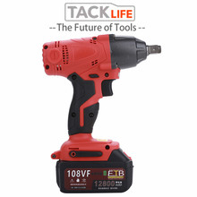 TACKLIFE 480NM Electric Rechargeable Brushless Ratchet Wrench Cordless Impact Wrench 12800mah Li Battery Hand Drill Power Tools