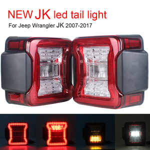 New Car Light Assembly led tail lamp For Jeep Wrangler JK 2007-2017 Rear Lamps Brake Reverse light Daytime Running Lights