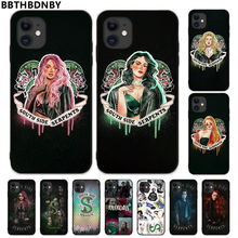 South Side Ular Riverdale Cover Hitam Lembut Shell Ponsel Case untuk iPhone 5 5S SE 5C 6 6S 7 8 plus X XS XR 11 Pro Max(China)