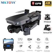 MKTOYS kwadrokopter z kamerą Drone 4K profesjonalna mechaniczna 2-osiowy Gimbal RC Dron Quadcopter z GPS F11 SG907 PRO