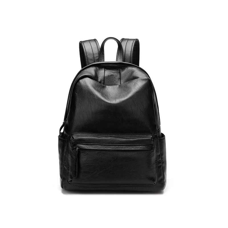 Genuine Leather Backpack Women Designer Bags High Quality Shoulder Bags New School Bags For Teenagers Girls sac a dos C1154