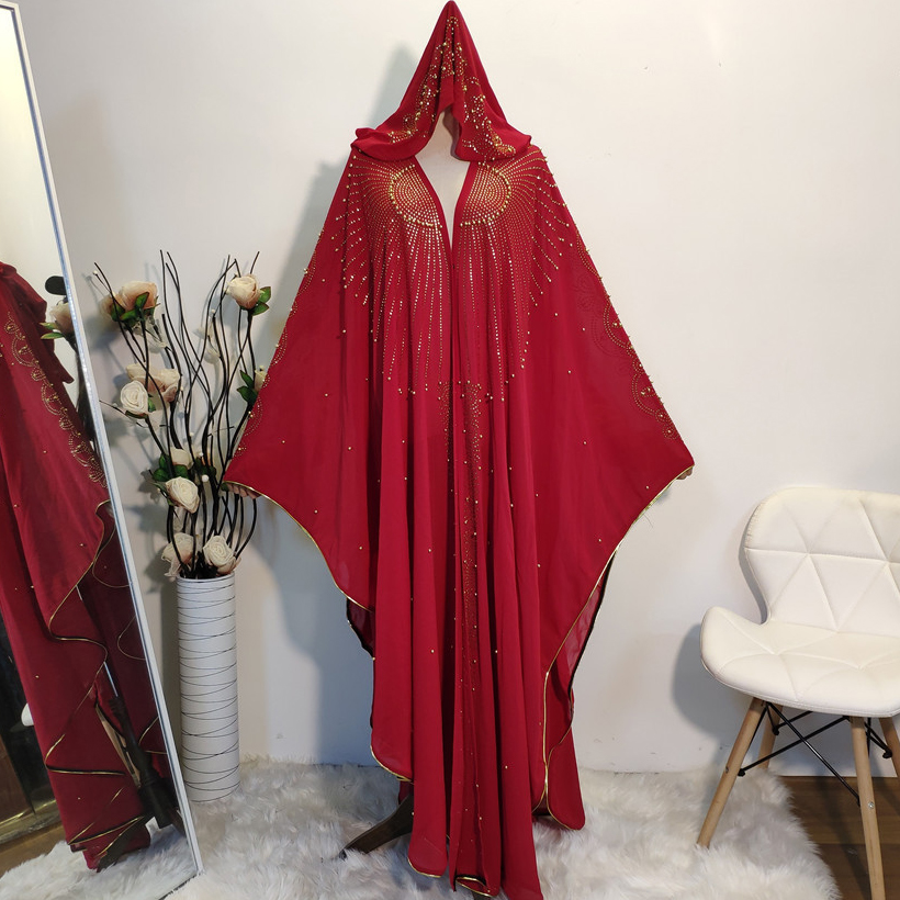 Africa Clothing African Dresses For Women Clothes African Dashiki Dress Plus Size Diamond Abaya Dubai Muslim Dress Robe Africain