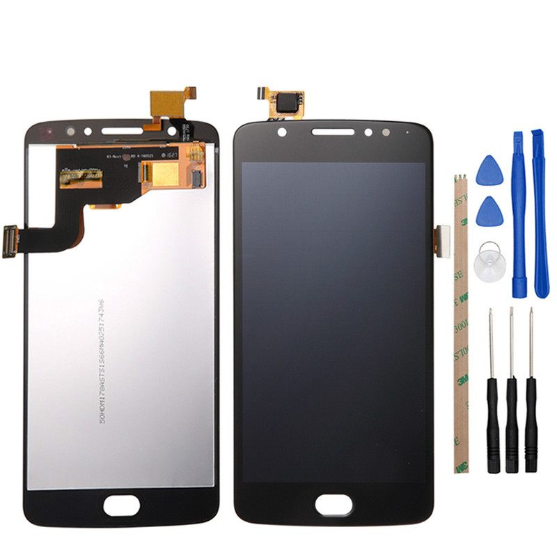 Top quality For Motorola E4 <font><b>LCD</b></font> Display Touch Screen Moto <font><b>XT1762</b></font> XT1763 XT1766 <font><b>LCD</b></font> Screen Digitizer Complete Assembly image