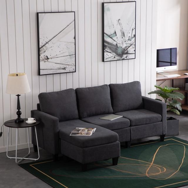 Chaise Sofa Combination 4